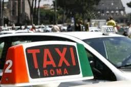 Taxi personalizzato a Roma
